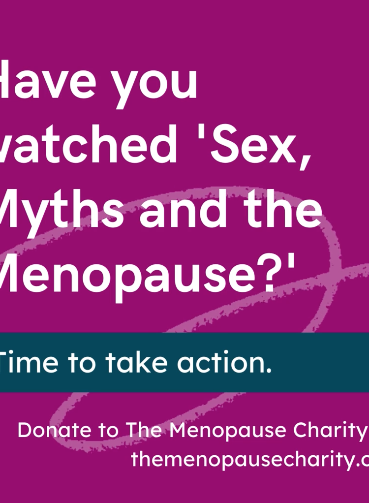 The new Menopause Charity launches the #OwnYourMenopause campaign